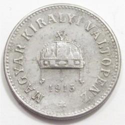 10 fillér 1915