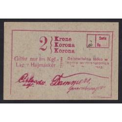 2 krone/korona 1916 - Hajmáskér