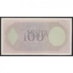 100 pengő 1926 - FÁZISNYOMAT 12