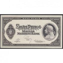 100 pengő 1926 - FÁZISNYOMAT 9