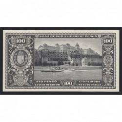 100 pengő 1926 - FÁZISNYOMAT 10