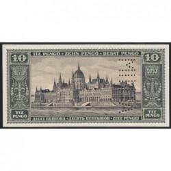 10 pengő 1926 - FÁZISNYOMAT 3