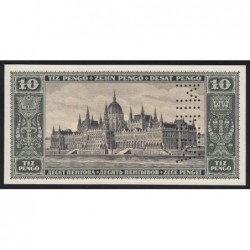 10 pengő 1926 - FÁZISNYOMAT 4