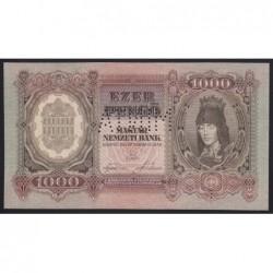 1000 pengő 1943 - FÁZISNYOMAT 34