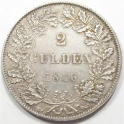 2 gulden 1846 - Frankfurt