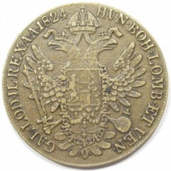 Franz I. thaler 1824 B - bronze TRIAL