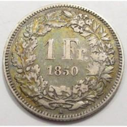 1 franc 1850 A
