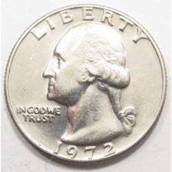 quarter dollar 1972