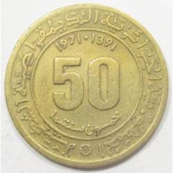 50 santimat 1971