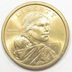 1 dollar 2000 D