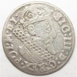 Sigismund III. 3 groschen 1623 - Kraków
