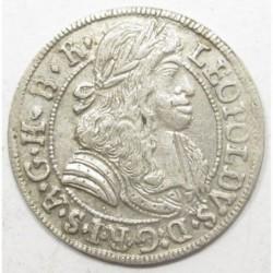 Leopold I. 3 kreuzer 1685 Hall
