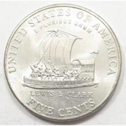 5 cents 2004 P - Lewis és Clark expedition