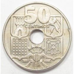 50 centimos 1956