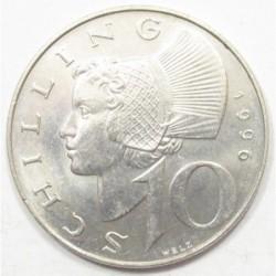 10 schilling 1996