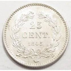 25 centimes 1845 B
