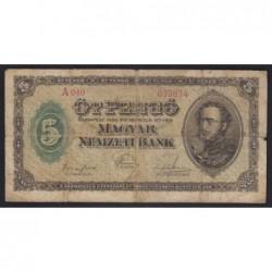5 pengő 1926