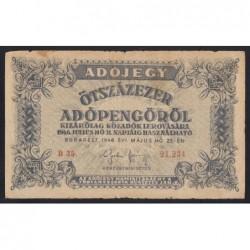500.000 adópengő 1946 - SORSZÁMOS