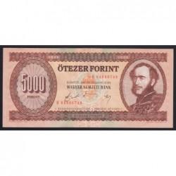 5000 forint 1990 H