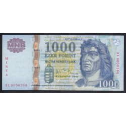1000 forint 2006 DA - MINTA