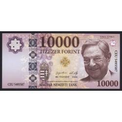 10000 forint 2104 Soros-gúnypénz