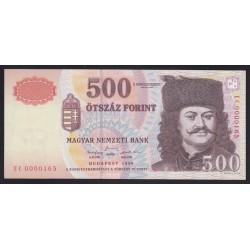 500 forint 1998 EC - alacsony sorszám