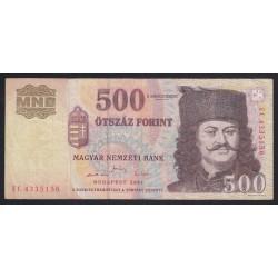 500 forint 2001 EC