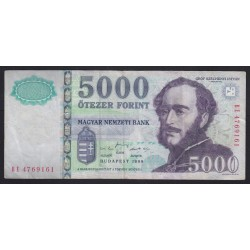 5000 forint 1999 BE