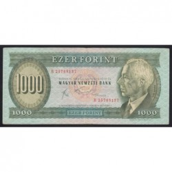 1000 forint 1983 B