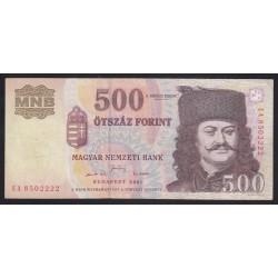 500 forint 2001 EA