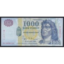 1000 forint 2002 DA - MINTA