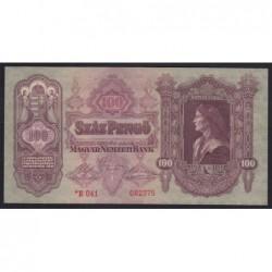100 pengő 1930 - Csillagos