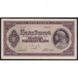 100 pengő 1945