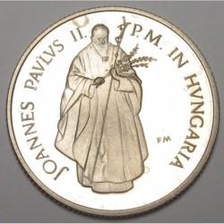 100 forint 1991 PP - Pope visit