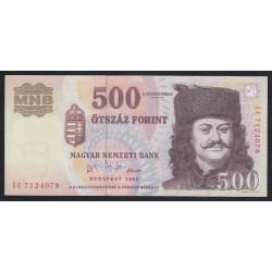 500 forint 2002 EB - Alacsony sorszámkövetõ