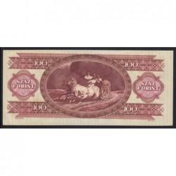 100 forint 1984 - Fordított alapnyomat