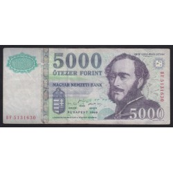 5000 forint 1999 BF
