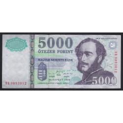 5000 forint 1999 BB