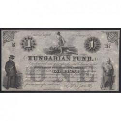 1 dollar 1852 C