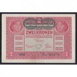 2 kronen/korona 1919