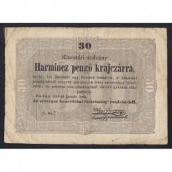 30 pengő krajcárra 1949