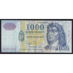 1000 forint 1999 DD