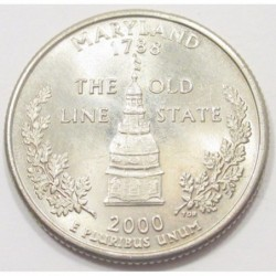 quarter dollar 2000 P - Maryland