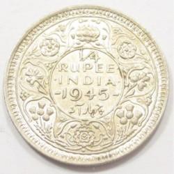 1/4 rupee 1945