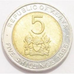 5 shillings 1995