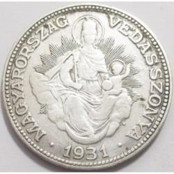 2 pengõ 1931