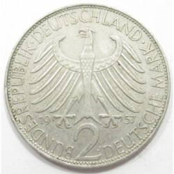 2 mark 1957 J - Max Planck