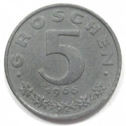 5 groschen 1966