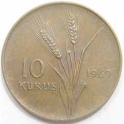 10 kurus 1969