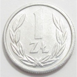 1 zloty  1989